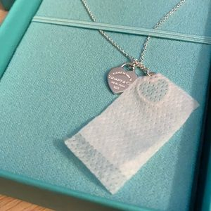 Brand new Tiffany & Co sterling pendant